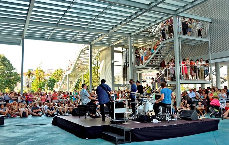 Concierto de Javier Escudero Band en el Centro Botín. © Foto: Tito González.