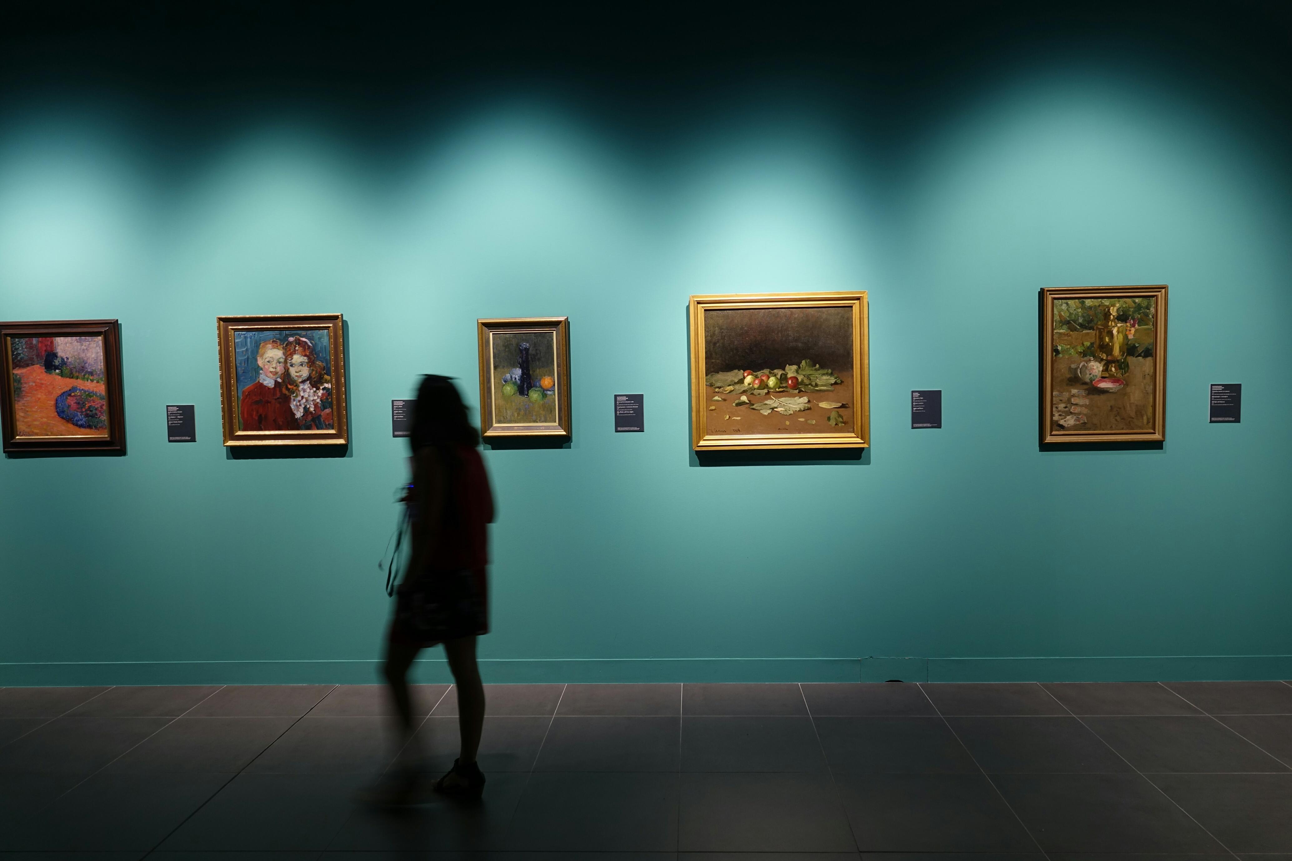 Exposición 'Alexéi y Andreas Jawlensky: la aventura del color'.