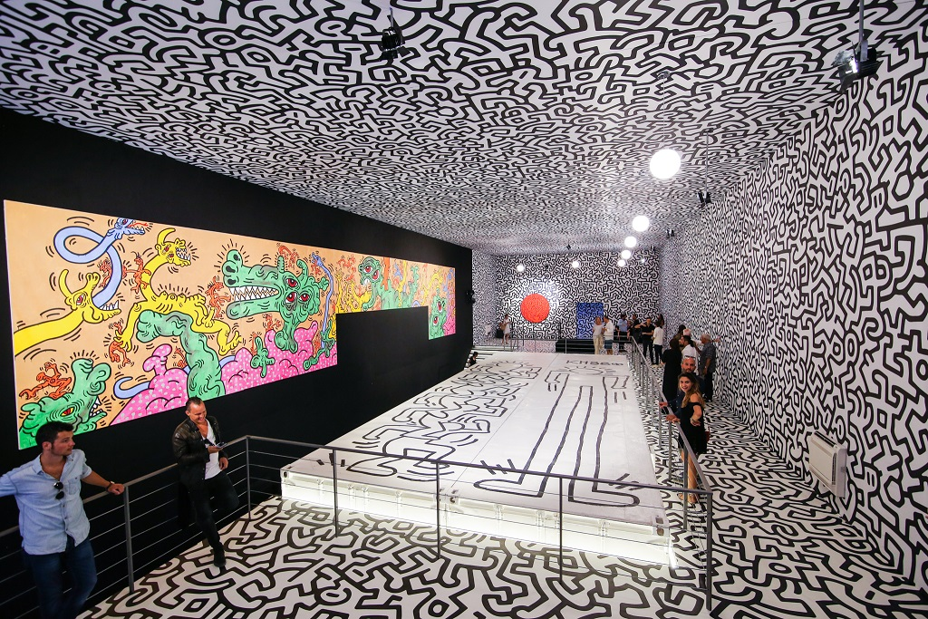 Exposición 'On view: Keith Haring'.