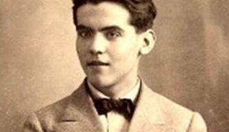 Federico García Lorca en 1914. Foto anónima hallada en la Universidad de Granada en 2007, proveniente de una ficha de estudiante.