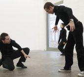 Vista de 'Una exposición coreografiada' en Kunsthalle de St Gallen. Foto: Anna-Tina Eberhard.