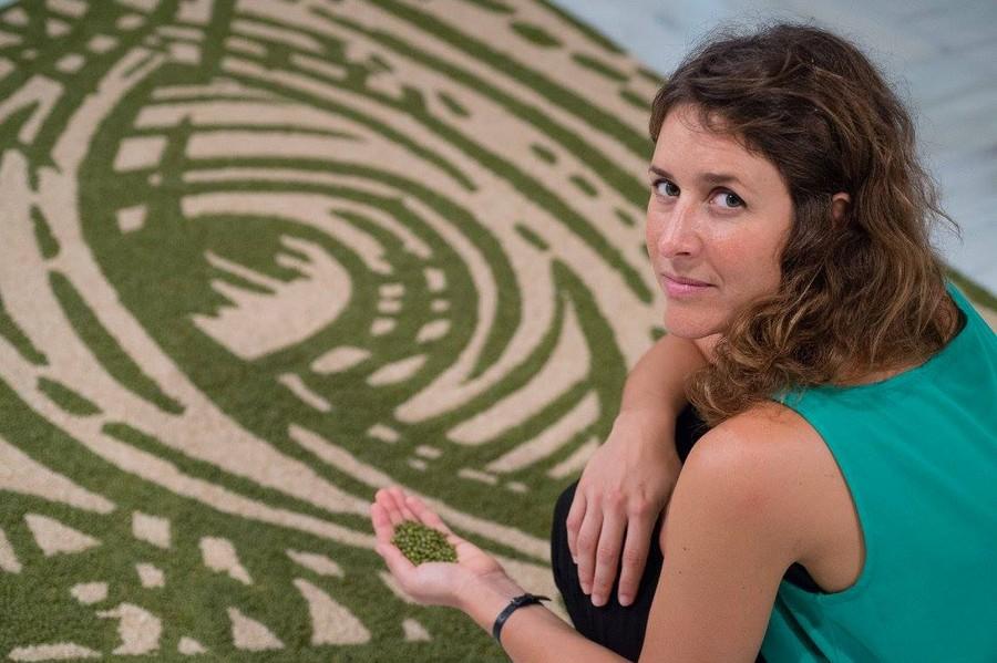 Luna Bengoechea en el CAAM.