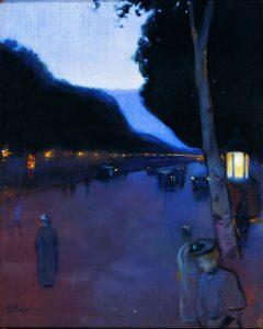 Ramon Pichot, Bulevar de Paris, c.1898-1901. Museu Cau Ferrat de Sitges.