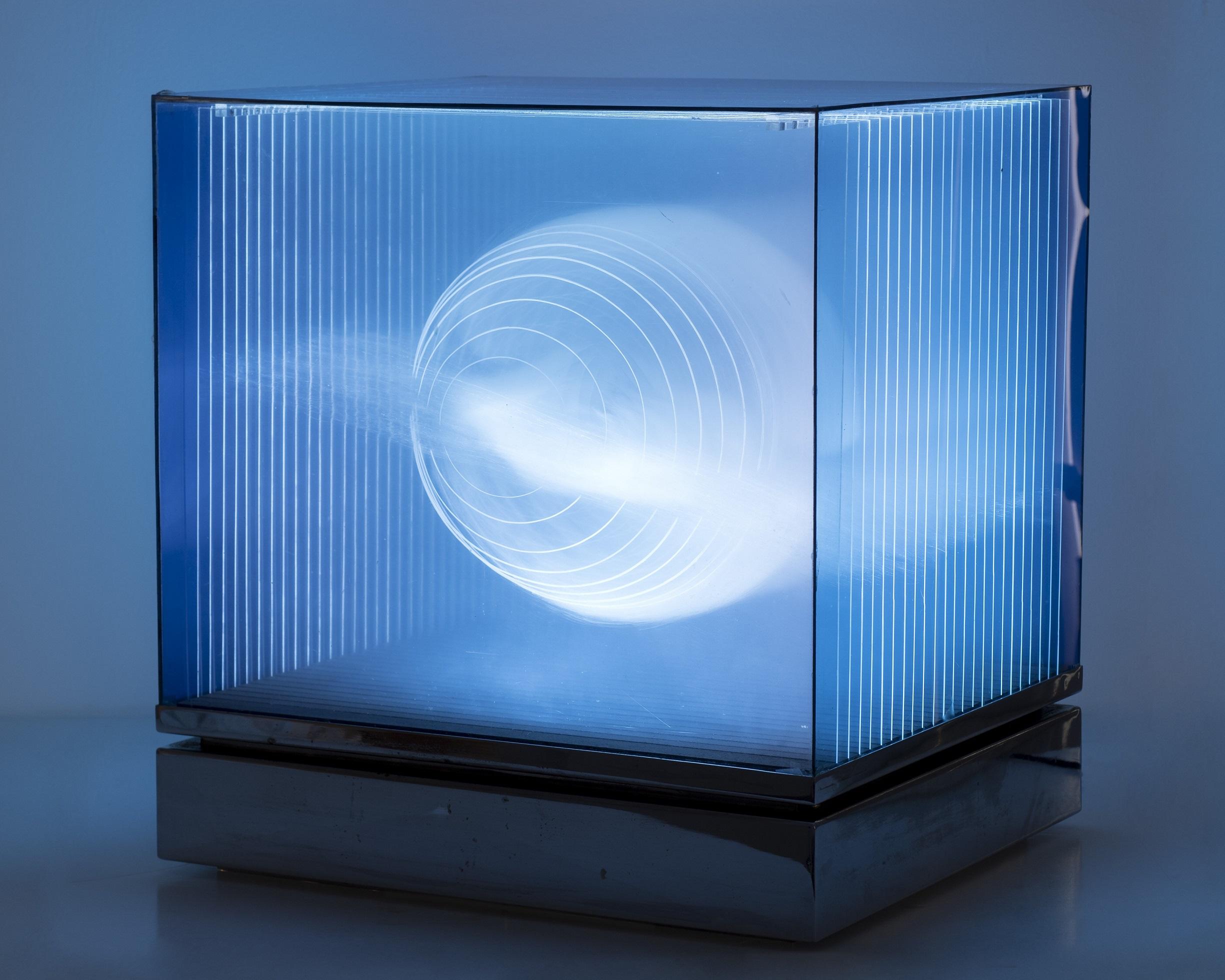 Diego Moya, Caja de luz.