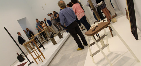 Exposición 'ROSI AMOR', de David Bestué. Foto: Sonia Aguilera.