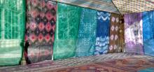 Federico Guzmán, Tuiza. Las culturas de la jaima, 2015. Vistas de la instalación en el Palacio de Cristal de Madrid, 2015. Cortesía del artista.