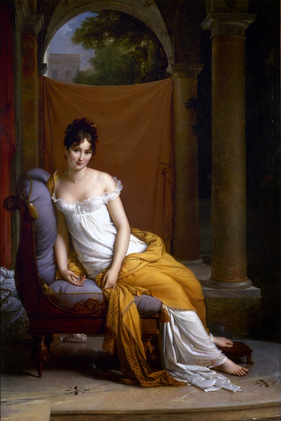 François Gérard_Madame Récamier_1805_Musée Carnavalet