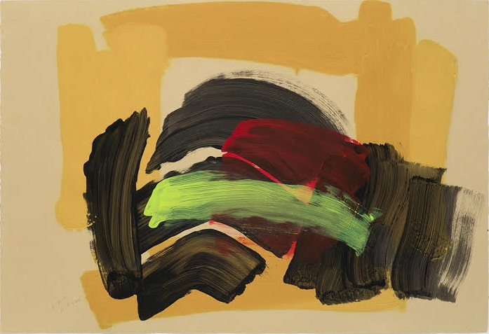 Howard Hodgkin. Big Sister, 2015-16.