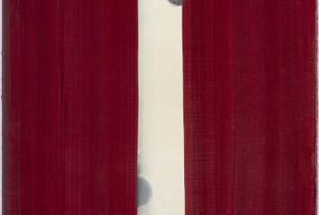Juan Uslé, Amapola, 1991. Depósito de la Colección Soledad Lorenzo, 2014. Foto: Joaquín Cortés/Román Lores.