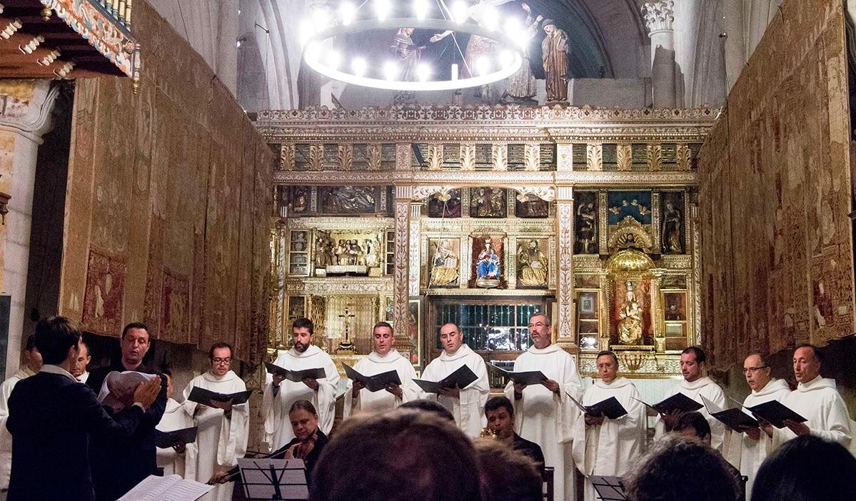 Schola Antiqua en el Monasterio de Las Huelgas.