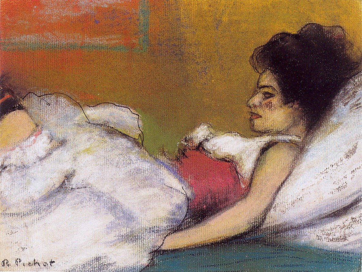 Ramon Pichot, Germaine, c.1900. Colección Artur Ramon.