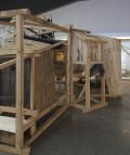 Vista de la instalación 'A partir de fragmentos dispersos', de Susana Velasco, 2017.