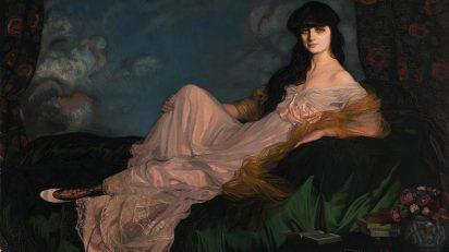 Ignacio Zuloaga. Retrato de la condesa Mathieu de Noailles, 1913. Museo de Bellas Artes de Bilbao Inv. 82/50. © Ignacio Zuloaga, VEGAP, Madrid, 2017. Foto: © Museo de Bellas Artes de Bilbao.