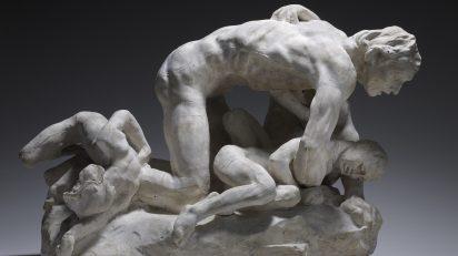 Auguste Rodin, Ugolin et ses enfants [Ugolino y sus hijos], 1881-1882. Musée Rodin, París. © Musée Rodin. Foto: Christian Baraja.
