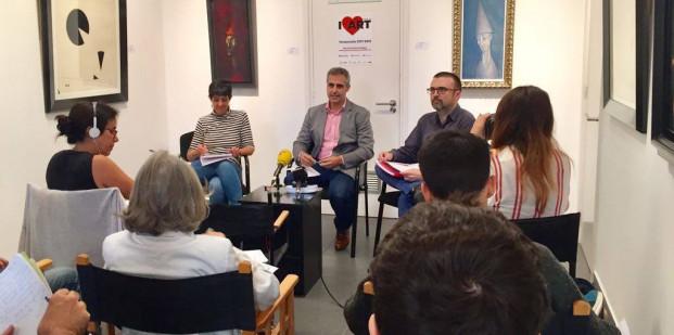 """En la presentación de la temporada 2017-2108, celebrada en la Galería de Arte Dolors Junyent, el presidente del GGAC, Gabriel Pinós, ha recordado que """"el arte es universal, no tiene fronteras. El arte siempre une nunca separa""""."""