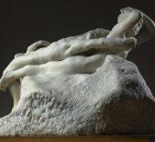 Auguste Rodin, Fugit Amor, antes de 1887. Musée Rodin, París. © Musée Rodin. Foto: Christian Baraja.