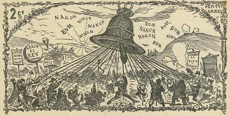 La campana de Gracia. Any II batallada LXII. 1871.