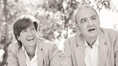Mario Prisuelos y Tomás Marco.