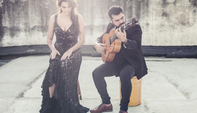 Alba Molina y José Acedo.