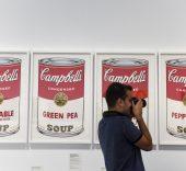CaixaForum Barcelona estrena 'Warhol. El arte mecánico'.