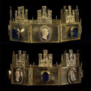 Corona de Sancho IV, Cabildo Catedral Primada, Toledo.