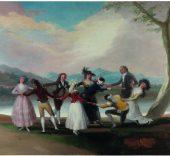 Francisco de Goya. La gallina ciega, 1788.© Museo Nacional del Prado.
