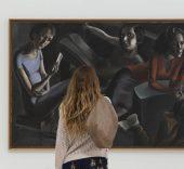 'La tertulia' de Ángeles Santos. Foto: Jesús Domínguez. © Museo Picasso Málaga.