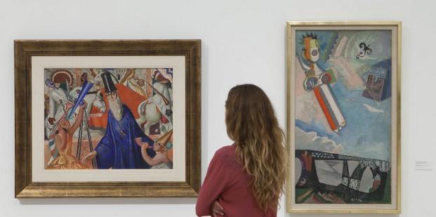 Maruja Mallo y Eileen Agar, dos de las artistas en esta exposición. Foto: Jesús Domínguez © Museo Picasso Málaga.