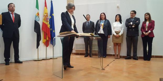 Leire Iglesias, consejera de Cultura de Extremadura.