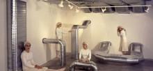 Diana Larrea. Sistema de ventilación. Espacio F, 2000.