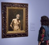 "Imagen de las salas de la exposición ""Fortuny (1838-1874). Foto © Museo Nacional del Prado. Image of the exhibition galleries ""Fortuny (1838-1874). Photo © Museo Nacional del Prado."