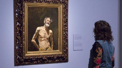 """Imagen de las salas de la exposición """"Fortuny (1838-1874). Foto © Museo Nacional del Prado. Image of the exhibition galleries """"Fortuny (1838-1874). Photo © Museo Nacional del Prado."""
