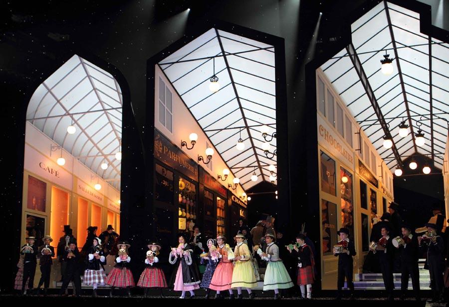 La Bohème, de la Royal Opera House de Londres, donde la producción se estrenó el pasado mes de julio. Fotógrafa: © Catherine Ashmor | ROH.