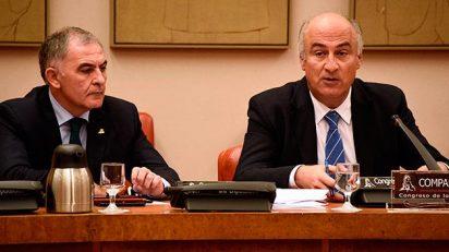 El secretario de Estado de Cultura, Fernando Benzo, en la Comisión de Cultura del Congreso de los Diputados.