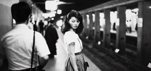 Tokyo, Meisje In De Subway, 1984 by Ed Van Der Elsken.