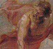 Rubens. Prometeo, 1636 - 1637. Óleo sobre tabla, 25,7 x 16,6 cm.