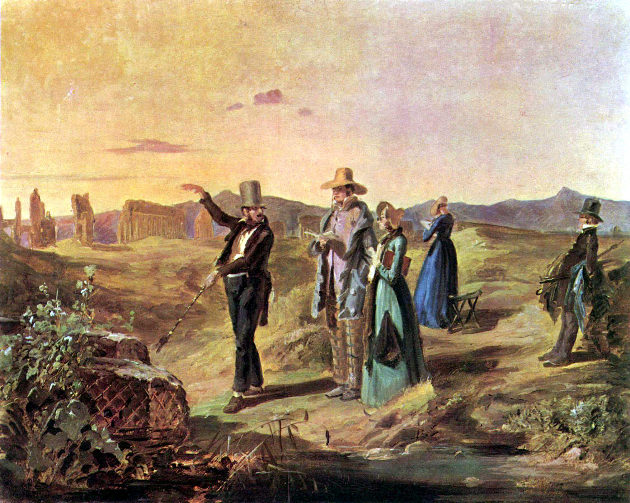 De Carl Spitzweg - The Yorck Project: 10.000 Meisterwerke der Malerei. DVD-ROM, 2002. ISBN 3936122202. Distributed by DIRECTMEDIA Publishing GmbH., Dominio público, https://commons.wikimedia.org/w/index.php?curid=159124