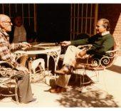 Carlos Fuentes y Buñuel a finales de los setenta