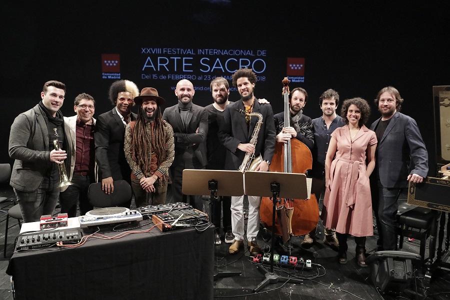 El consejero de Cultura, Jaime de los Santos, presenta la XXVIII edición del Festival Internacional de Arte Sacro de la Comunidad de Madrid. Foto: D. Sinova.