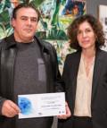 Miguel Ángel Villarino y Pilar García de la Puebla, directora de Comunicación y Relaciones Públicas de BMW Group.