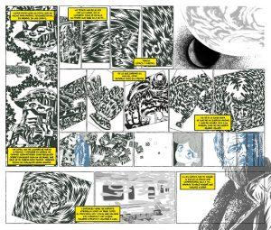 Victor Puchalski. La ciudad en viñetas.