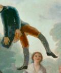 El pelele. Francisco de Goya y Lucientes (1791 - 1792). Óleo sobre lienzo, 267 x 160 cm. Museo Nacional del Prado.