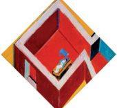 Juan Navarro Baldeweg. Habitación roja con figura, 2005. Colección Fundación Botín, Santander.