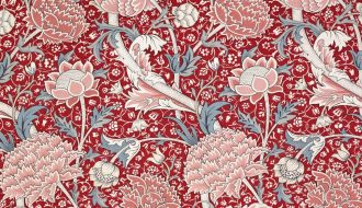 William Morris per a Morris & Co. Trapería «Cray», 1884. © The Whitworth, The University of Manchester.