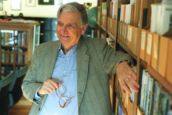 E.O. Wilson. Photo: Rose Lincoln/Harvard University News Office.