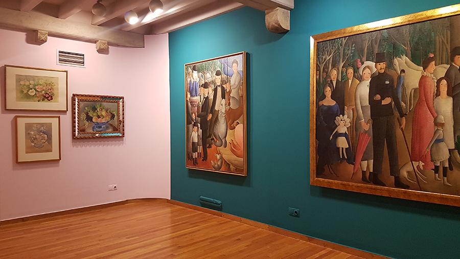 Exposición 'Olga Sacharoff: pintura, poesía y emancipación' en el Museu d'Art de Girona.