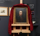 El primer autorretrato conocido de Goya.