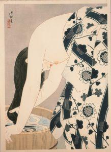 ItōShinsui. Hair, 1952. © Taiyo no Hikari Foundation, Japan, 2018.