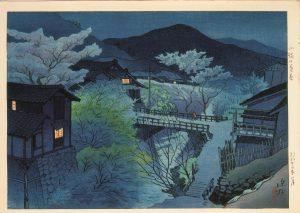 ItōShinsui. Late spring in Komoro, 1948. © Taiyo no Hikari Foundation, Japan, 2018.