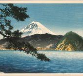 Itō Shinsui. Mount Fuji as seen from Mitohama beach, 1938 © Taiyo no Hikari Foundation, Japan, 2018